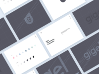 Gigel - Brand Guidelines // Hello Dribbble!