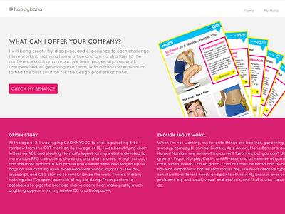 Portfolio in a day portfolio site quickie