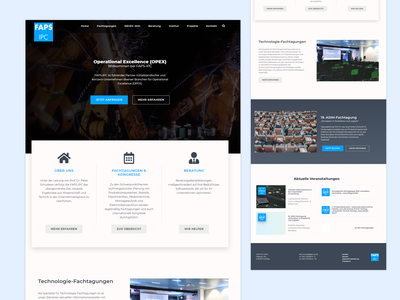 Operational Excellence Website business website webdesign