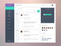 Task App Dashboard UI