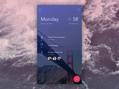 Secret Project ui ux invision app prototyping clean material gif ae animation mobile flat