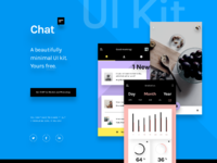 Chat ui kit landing page