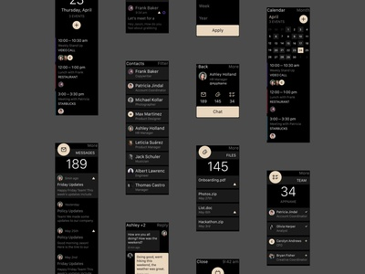 Meet MAIL — A UI Kit by InVision app free invision watch kit mobile photoshop prototyping mail sketch ui ux