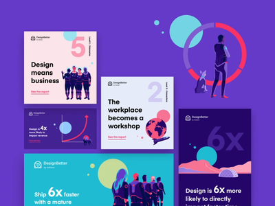 The New Design Frontier: Report on how design affects business cards color designbetter web flat design visual typography identity motion campaign social report maturity animation logo illustration invision graph chart