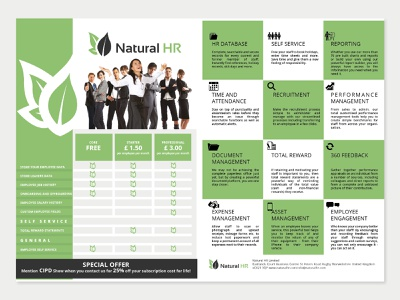 brochure corporate layout design icons
