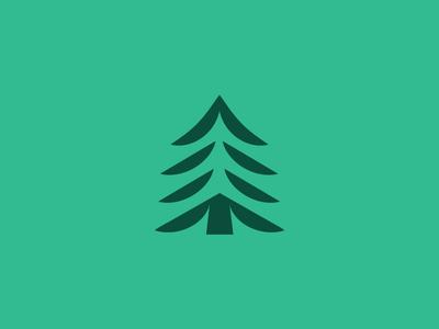 Perfect Little Tree mountain range evergreen state washington state pacific northwest cascadia rainier seattle pnw scalable simple logo tree logo evergreen icon tree