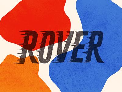 ROVER fast speed streak wind hand thpe grunge texture texture speed lines dining restaurant motion movement rover