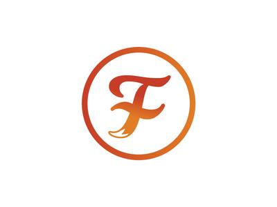 Travis Fox Logo logo design brand logo gradient fox tail fox milkshake font typography combination mark letter mark monogram