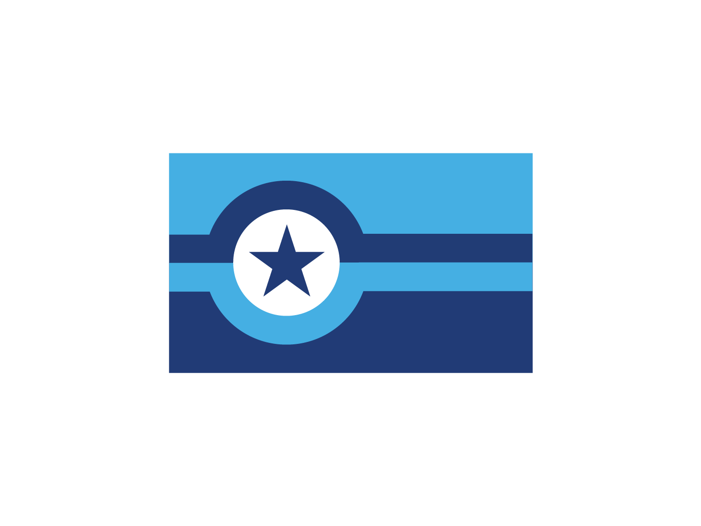 Olympia City Flag geometric emblem design graphic design state capital pacific northwest municipal vexillography vexillology flag design washington olympia