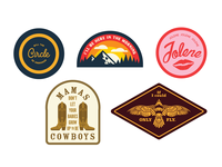 Country Music Patches