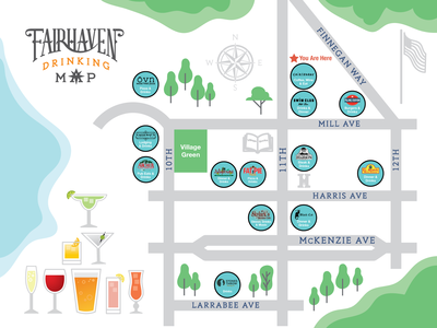 Fairhaven Drinking Map
