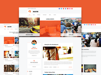 Master - Personal Blog Theme