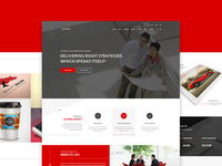 Lenard - One Page Template  themeforest psd template landing page onepage parallax wordpress web design pricing table photography journal gallery