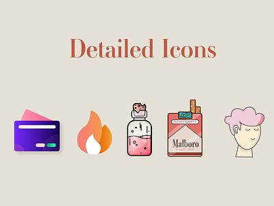 UX/UI Icons 3d logo branding motion graphics graphic design animation ui