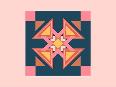 Geometric Pattern ux vector illustration design logo animation 3d ui digitalwatercolourstokespastels branding motion graphics graphic design