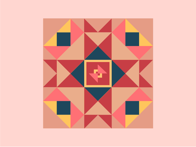 Geometric Pattern grids shapes colors pattern ux vector illustration design digitalwatercolourstokespastels logo branding graphic design motion graphics 3d animation ui