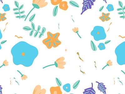 Pattern Making doodles colors florals brush pattern 3d animation ux vector illustration design logo digitalwatercolourstokespastels ui branding motion graphics graphic design