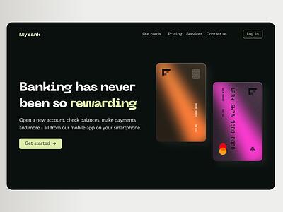 Maratón UI - Landing Page web design product design 2d e commerce desktop app design dailyui finance banking graphic design ui