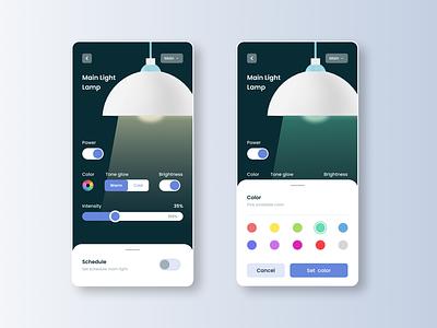 Maratón UI - Settings 3d web design ux product design smart home 2d app ui graphic design design dailyui