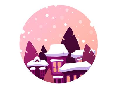 Cozy winter houses