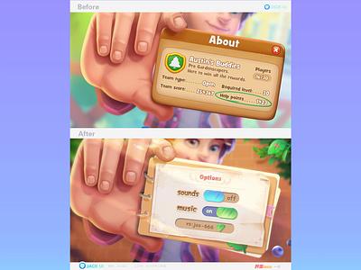 【JACK游戏UI学员作品】2D GAME UI二次元界面创意交互设计广告原画插画三维手绘图标GUI APP ICON UIUX 平面 游戏ui 游戏设计 游戏 game ui game logo ios design ueux app gui icon ui