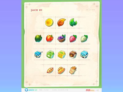 【JACK游戏UI学员作品】2D GAME UI二次元界面创意交互设计广告原画插画三维手绘图标GUI APP ICON UIUX 界面 图标 game game ui 游戏 logo illustration ios design ueux app gui icon ui