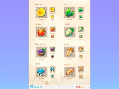 【JACK游戏UI学员作品】2D GAME UI二次元界面创意交互设计广告原画插画三维手绘图标GUI APP ICON UIUX 手绘 游戏ui 游戏设计 game art 游戏 games game web 图标 界面 ios design ueux app gui icon ui