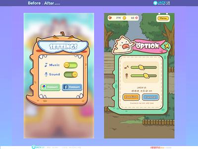 【JACK游戏UI学员作品】2D GAME UI二次元界面创意交互设计广告原画插画三维手绘图标GUI APP ICON UIUX 游戏美术 游戏设计 游戏ui logo ueux design illustration 图标 界面 ui app icon gui