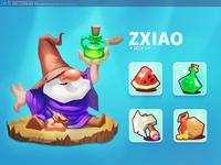 游戏ui界面设计 图标