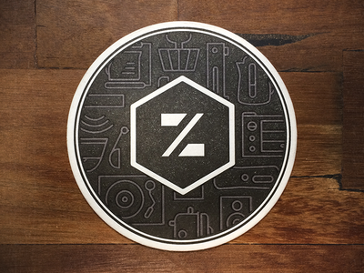 Zuli Coasters letterpress swag giveaway booze bucket coasters