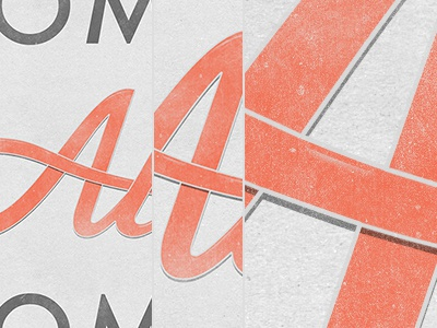 Sometimes Awesome typography poster hand lettering awesome sometimes