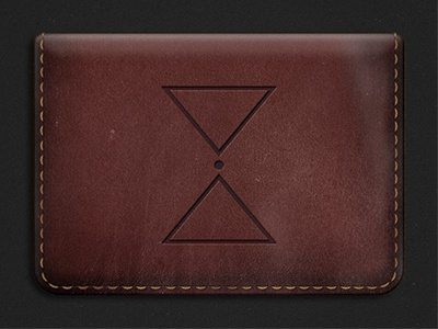 Practice Object - My Wallet wallet practice illustration leather