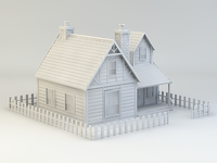 3D House practice