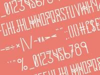 Resistance Typeface