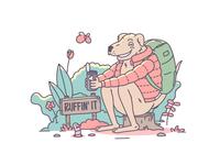 Ruffin' it