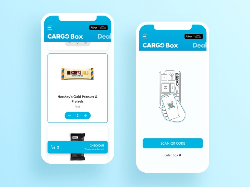 Product Design for Cargo App (1/3) scan simple clean ride sharing ridesharing rideshare ride ios mobile app design mobile design mobile ui mobile app mobile