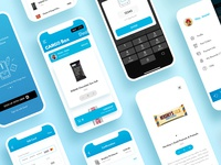Product Design for Cargo App (2/3) products cargo ride sharing ridesharing rideshare ride mobile design mobile app design mobile ui mobile app mobile ios clean