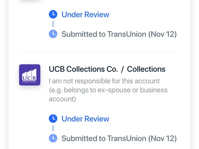 Review and Dispute Your Credit Report App Design credit score mobile mobile app mobile app design cards cards design application design applicaiton finance app finance credit ios app clean design