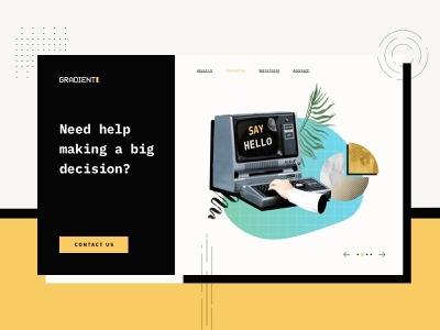 Gradient Metrics Illustrations old style statistics startup analytics market research research metrics illustrations illustration design data