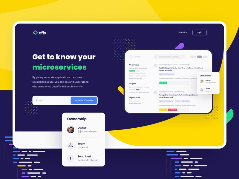 Effx Brand Identity & Website Design (2/3)