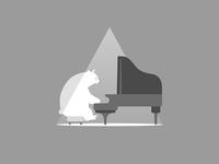 Polar bear&Piano