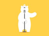 Polar bear&Singer