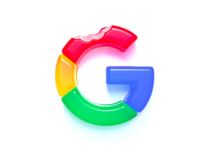 Google logo (gummy style) branding graphicdesign letter g mark clean conceptual design logo design concept creative realistic logo design icon google logo logo c4d cinema4d 3d gummy google design illustration