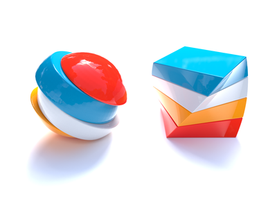Funny shapes modern design geometric art geometry modern shape study cinema4d concept abstract icon realistic c4d cinema 4d lite render graphic design design cinema 4d 3d shapes 3d cube sphere