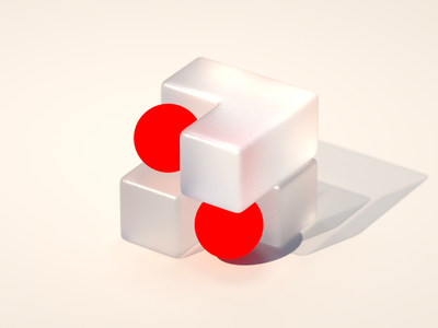 Undefined design red sphere sphere red branding brand concept design concept illustration isometric geometric shape cg cgi render 3d 3d design