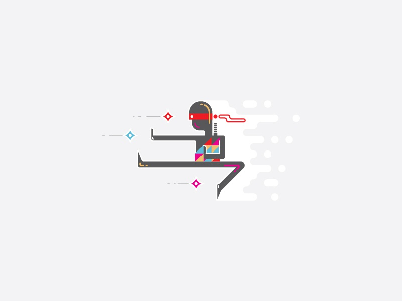 ninja infographic template by infographic paradise dribbble