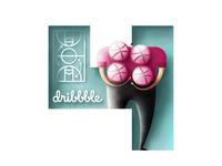 4x Dribbble Invites