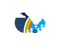 Rainbow - Minimalist Illustration