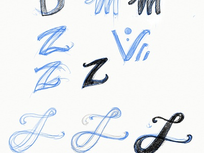 Type sketches type design sketch letterforms