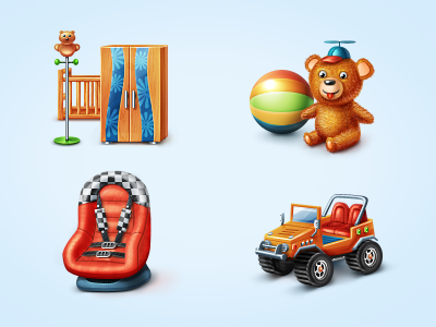 Icons for Baby Shop icon icons